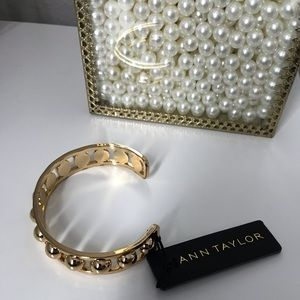 ANN TAYLOR BRACELET / BANGLE  GOLD